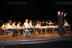 Concert du Nouvel an 2012. Photo archives Evelyne Giudice